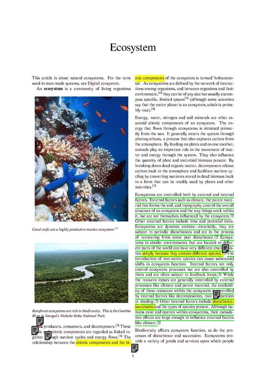 types of aquatic ecosystem pdf