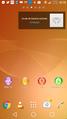 Ecran accueil Xperia Z1 - Androïd 4.4.png