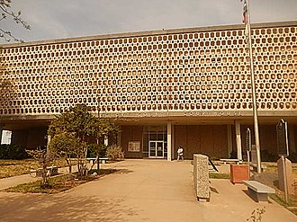 Ector County, Texas - Image: Ector County, TX, Courthouse (2014) DSCN1270