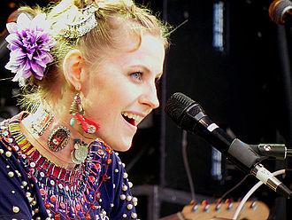 Edda Magnason - Edda Magnason performing in 2011