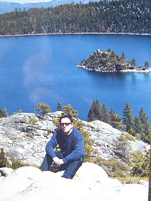 Edgar Brau - Edgar Brau at Lake Tahoe. April, 2003