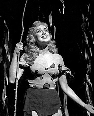 Edie Adams - Adams as Daisy Mae in Li'l Abner, 1956.