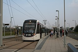 Edinburgh Park Station tram stop (geograph 4167955).jpg