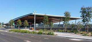 Edmondson Park railway station railway station in Sydney, New South Wales, Australia