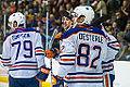 Edmonton Oilers Rookies vs UofA Golden Bears (15088627860).jpg