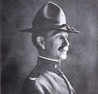 Edward C. Shannon - Shannon as Colonel and commander of the 111th Infantry Regiment, 1918