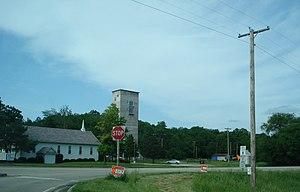 Edwards, Illinois - Taylor Road at IL 8, 2007