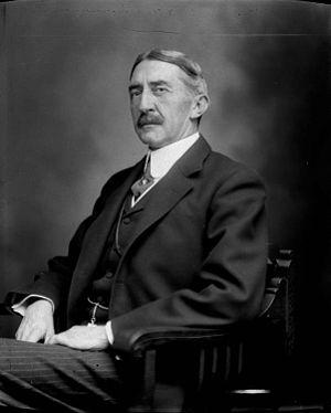 Edwin Alderman - 1912 photo of Edwin Alderman by Rufus Holsinger