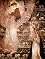 Edwin Austin Abbey - Galahad Receiving the Visit of an Angel.jpg