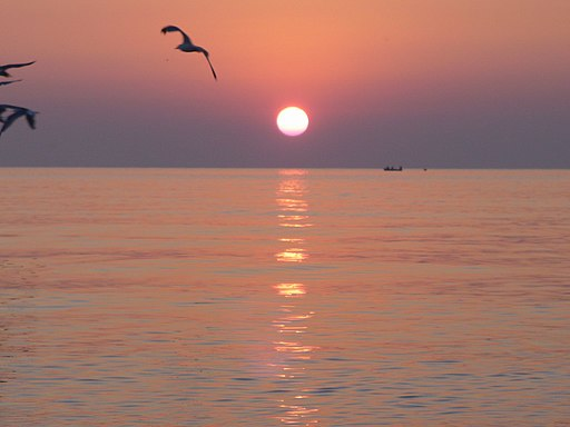Eforie Sud - Black Sea - The Beach - Sunrise - panoramio - jeffwarder