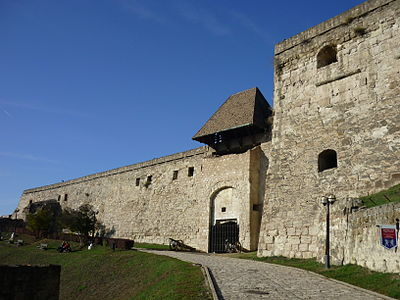 The Hippolyt Gate, one of the main entrances of the Eger Castle Eger Gergely Hippolyt.jpg