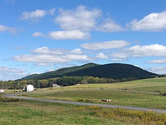 Penns Valley - Egg Hill in PA from PA45