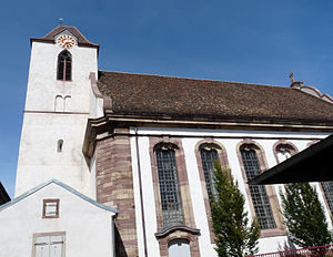Eglise Sainte-Aurélie de Strasbourg-Clocher-Fenêtres.jpg