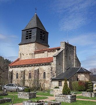 Arronnes - Church of St-Léger at Arronnes