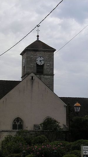Belleneuve - Image: Eglise de BELLENEUVE