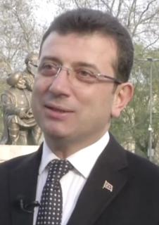 Ekrem İmamoğlu Turkish politician