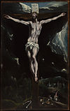 El Greco (Domenico Theotocopuli) - Christ on the Cross - Google Art Project.jpg
