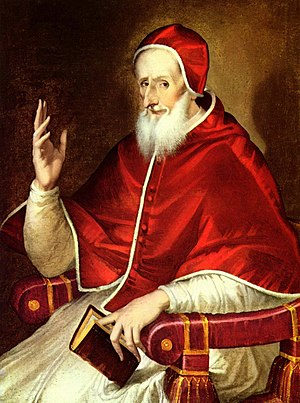 Regnans in Excelsis - Pope Pius V