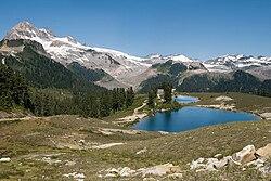 Elfin Lakes from Paul Ridge.
