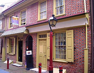 Elfreth's Alley - The Elfreth's Alley Museum (2012)
