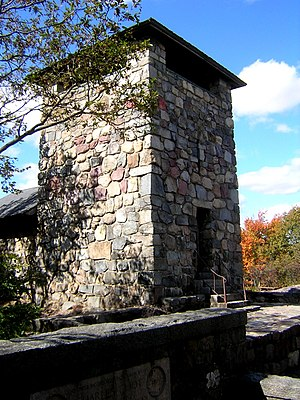 Great Blue Hill - Image: Eliot Tower Milton MA 03
