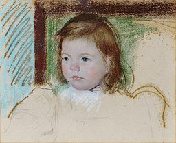 Paintings of Children by Mary Cassatt