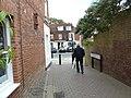 Emerging from Long Garden Walk into Castle Street - geograph.org.uk - 1992990.jpg
