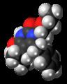 Emivirine molecule spacefill.png