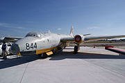 English Electric Canberra TT.18 WJ574 LSideFront TICO 16March2014 (14665176202).jpg