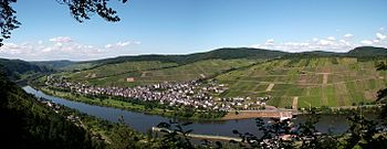 Enkirch on the Moselle 2012