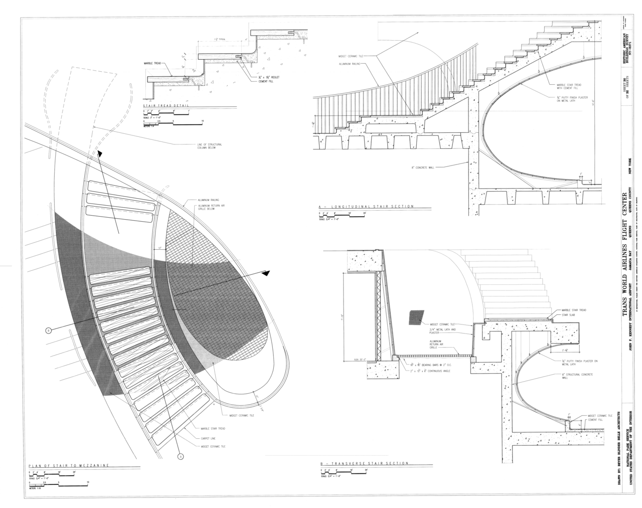 file enlarged stair plan and details