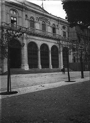 Congress of the Republic (Portugal) - Image: Entrée Chambre des deputes a Lisbonne (Chusseau Flaviens) (H)