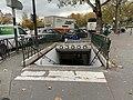 Entrée Station Métro Porte St Cloud Paris 1.jpg