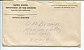 Envelope from United States Department of the Interior Indian Field Service to O. M. Brown, Hoopa - NARA - 7829636.jpg