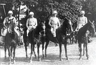 Enrique Padilla (polo) - Enrique Padilla (second from left) as part of the Argentine Olympic team in 1924
