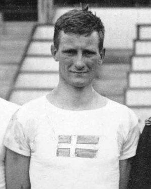 Erik de Laval - Erik de Laval at the 1920 Olympics