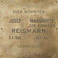Erinnerungsstein für Josef und Margarete Reismann.jpg