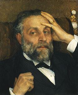 JOSEPHSON Ernst Portrait of Pontus Fürstenberg 1883