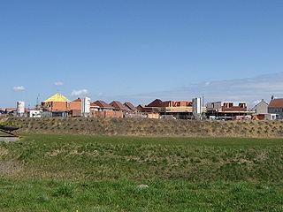 Arnemuiden City in Zeeland, Netherlands