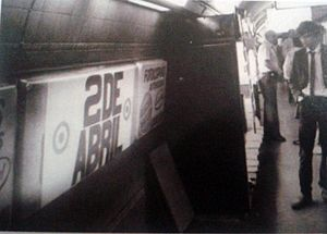 Scalabrini Ortiz (Buenos Aires Underground) - Image: Estación 2 de abril, Subte
