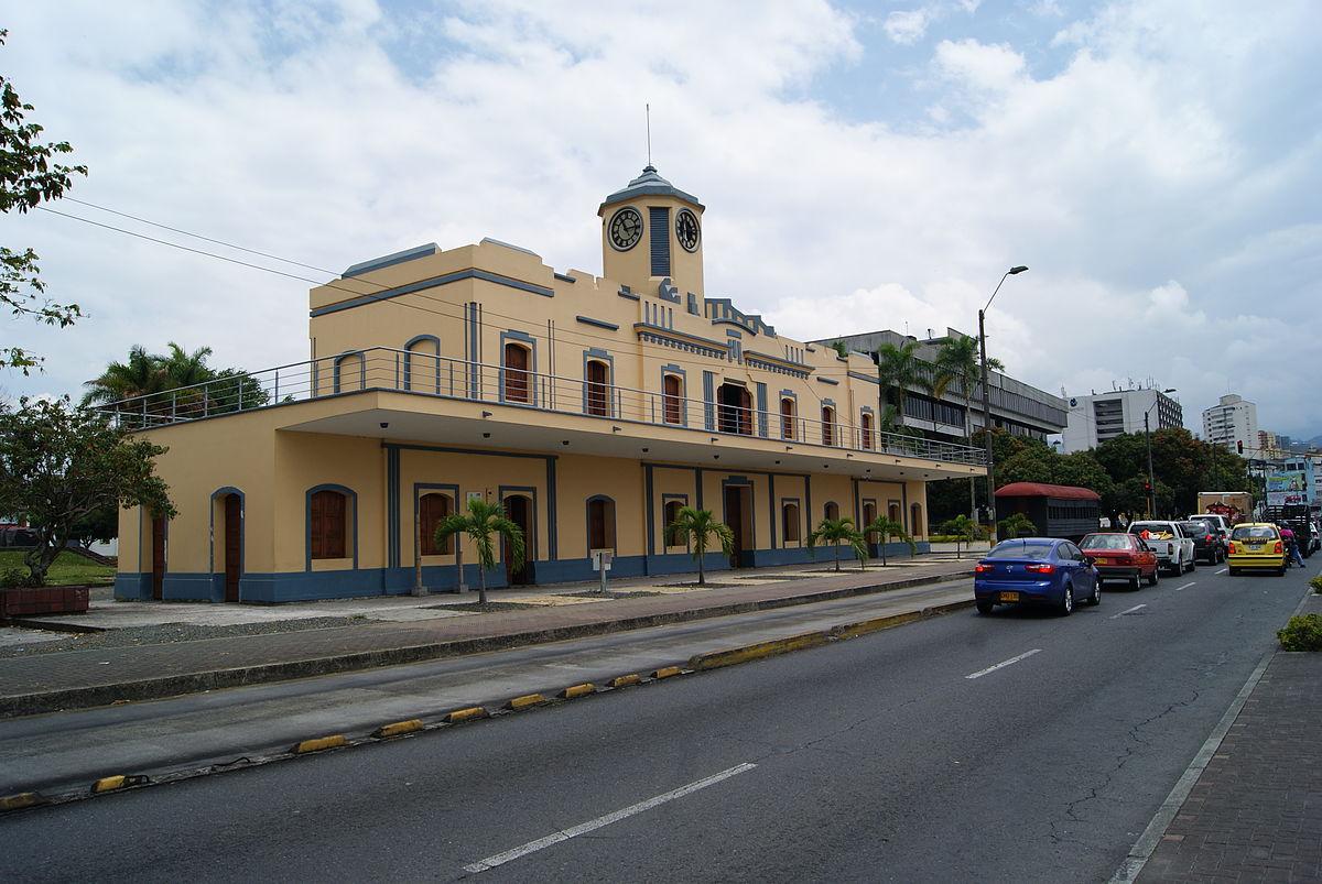 Estación del Ferrocarril Pereira..JPG