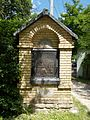Esztergom Calvary Hill, Stations of the Cross, Station 3.jpg