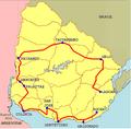 Etapas de la Vuelta del Uruguay 2001.png