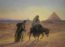 Eugène Girardet, Flight into Egypt.jpg