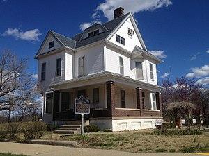 Eugene V. Debs Home - Southwest view