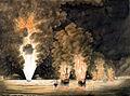 Evacuation de Toulon et incendie de vaisseaux 1793 nmmacuk.jpg