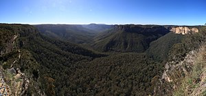Evans Lookout - View of the Grose Valley from Evans Lookout