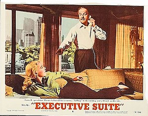 Executive Suite - Lobby card