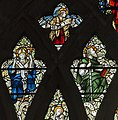 Exeter Cathedral, Stained glass window detail (36671022260).jpg