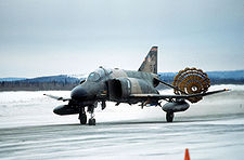 F-4 Phantom land with parachute.JPEG